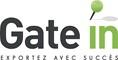 Gate in | Exportez avec succès Logo